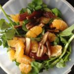 salade originale aux dattes et à la mandarine (recette de cuisine)