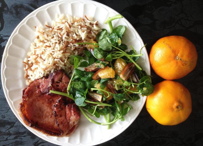 recette de salade originale aux dattes et à la mandarine, une recette hors du commun