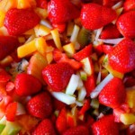 macedoine de fruits ou salade de fruits, recette de dessert