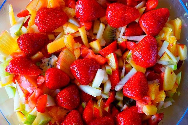 macedoine de fruits ou salade de fruits