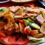 recette de cuisine: salade fattouche libanaise
