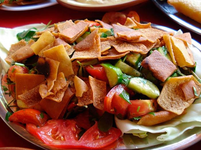recette de salade fattouche libanaise