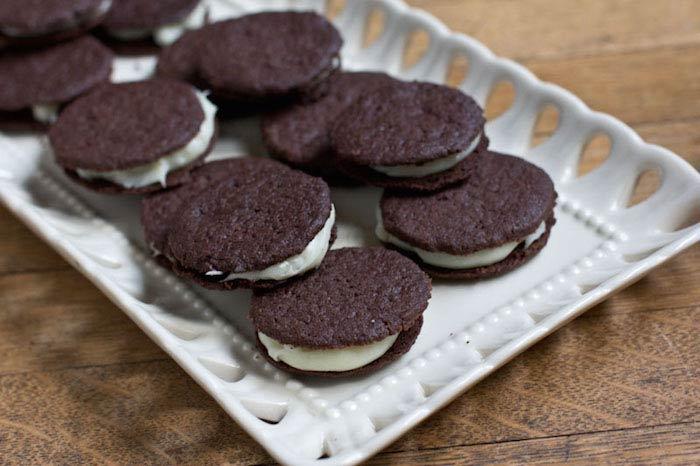 recette végane de cookies Oreo maison