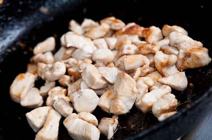 poulet pour riz cantonais