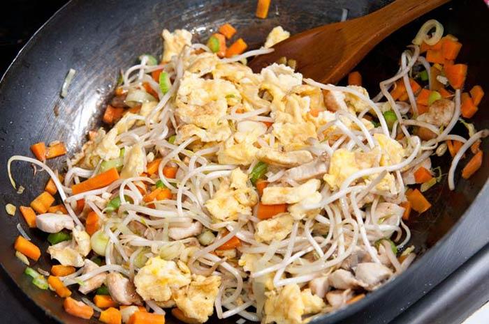 riz cantonais cuisson