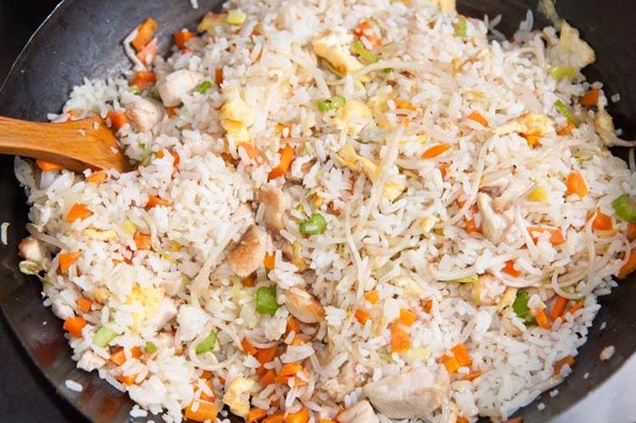 riz cantonais, recette traditionnelle mais facile
