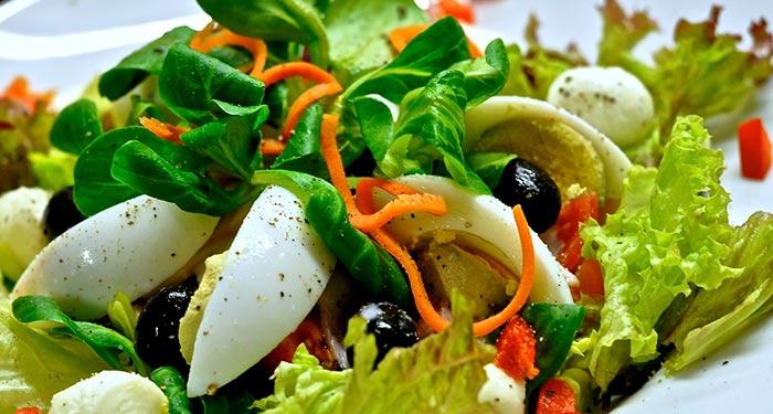 salades composées : trouvez votre recette de salade préférée