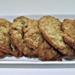 cookies flocons d'avoine healthy, recette de dessert
