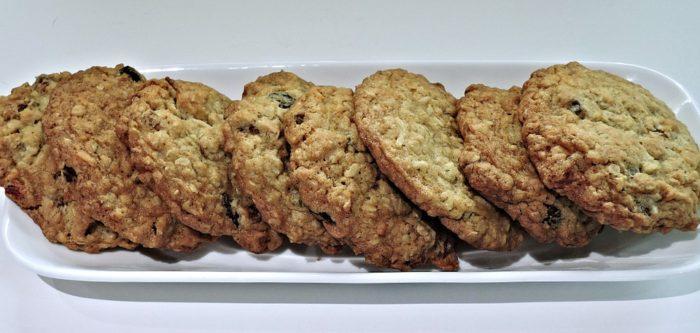 cookies flocons d'avoine healthy, recette de cuisine facile