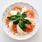 Salade tomate mozarella caprese