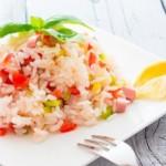 salade de riz, recette de cuisine