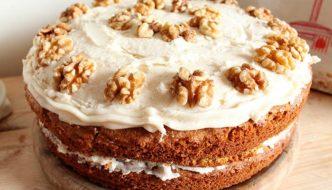 carrot cake facile, recette de cuisine