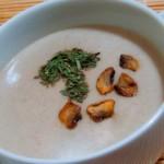 velouté de champignons, recette de soupe facile