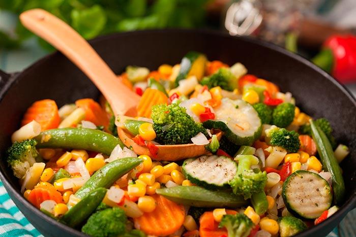 Recette Saine Et Rapide Wok De Légumes Mangezpluscom