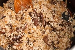 risotto aux champignons, recette