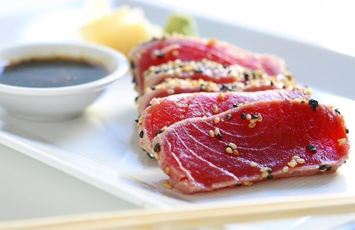 tataki de thon, recette japonaise facile