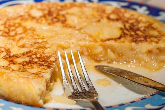 recette tortilla espagnole traditionnelle