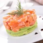 recette de tartare de saumon avocat facile