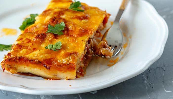 recette de moussaka traditionnelle aux aubergines, une recette de cuisine facile