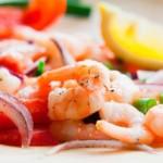 ceviche de crevettes, recette de cuisine péruvienne