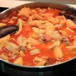 Les callos à la madrileña (ou à la madrilène), spécialité gastronomique espagnole