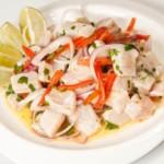 recette de ceviche de daurade (ceviche de poisson frais)