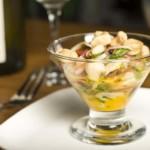 ceviche de daurade ou de poisson frais