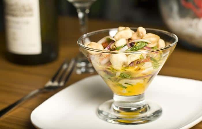 ceviche de daurade (recette de ceviche de poisson frais)