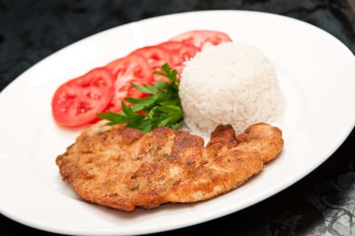 escalope de poulet pané, recette de cuisine