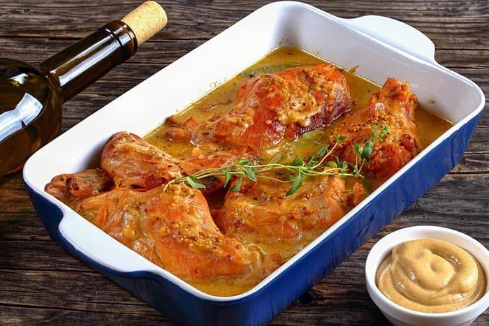 recette de lapin à la moutarde facile