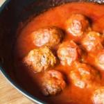 boulettes de viande en sauce à la tomate : recette de cuisine facile