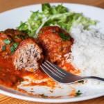 recette de boulettes de viande en sauce à la tomate