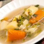 soupe de poulet : recette d'hiver