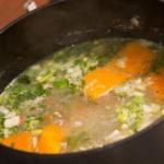 soupe de poulet : recette de cuisine facile