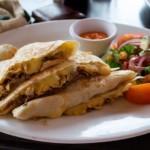 recette mexicaine facile : quesadillas au fromage