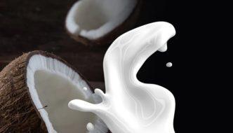 lait de coco maison, recette healthy et bonne pour la santé