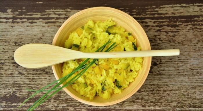 risotto au potiron : recette végétarienne healthy
