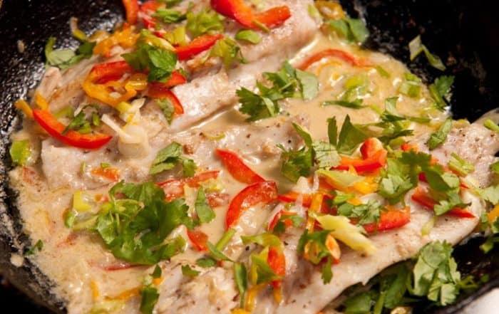 poisson au lait de coco : recette de plat exotique