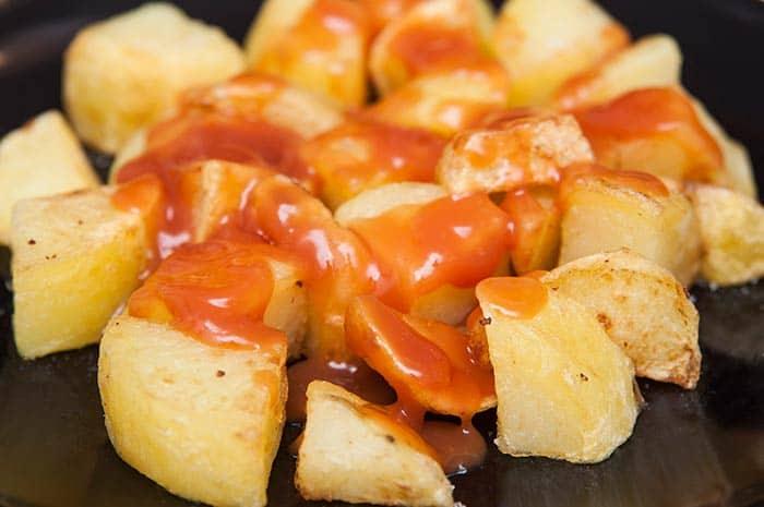 Sauce brava ou salsa brava : de la sauce pour patatas bravas (recette de cuisine maison)