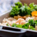 recette avec lait de coco : riz aux crevettes et au lait de coco