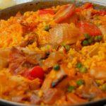 recettes de cuisine espagnole : paella