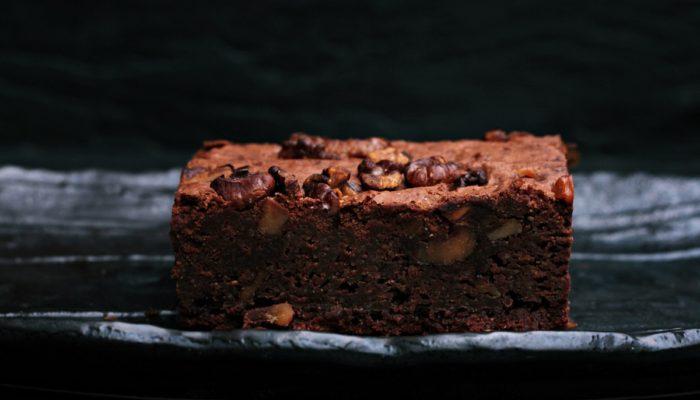 recette de brownie maison au chocolat, très facile