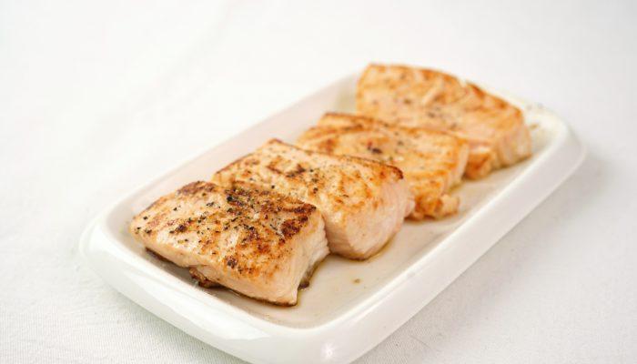 recette de poisson healthy : merlu au four